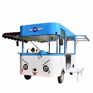 Custom design Electric mobile vw type fast food truck