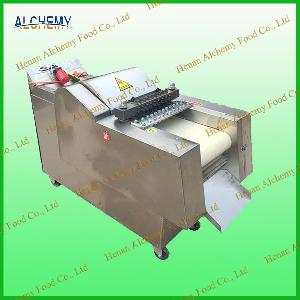stable performance commercial chicken  nuggets  making machine