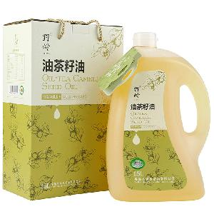 China Supplier Tea Extract Organic Cold  Press ed Camellia Japonica  Seed   Oil