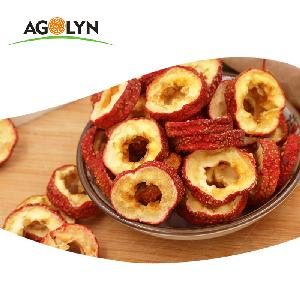AGOLYN Chinese  fruit  Shan Zha Cut Slice Freeze-dried hawthorn