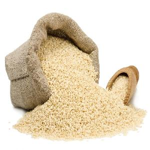 Wholesales Raw White Hulled Sesame seeds