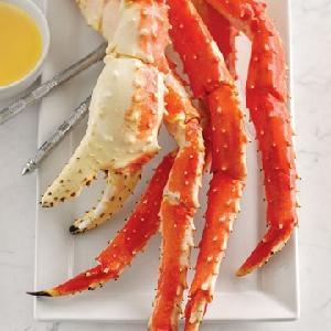 Wild Caught  Frozen  Alaskan King Crab Legs / Boiled King Crab Legs in  USA