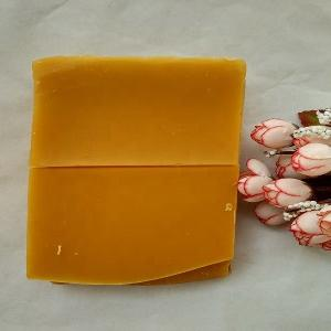Wholesale Yellow nature honey smell beeswax slab bee wax