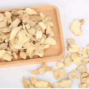 Dried ginger slices with high health benefits Organic food ingredient