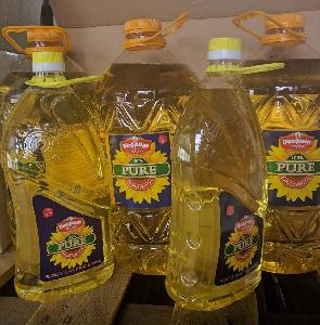 Pure and Best Natural Refined Sunflower Cooking Oil from Europe