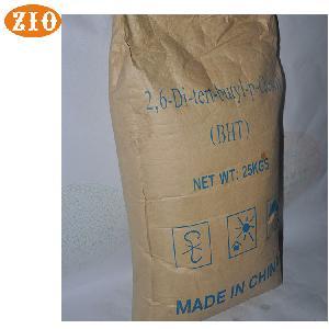 Antioxidant BHT food grade butylated hydroxytoluene competitive price