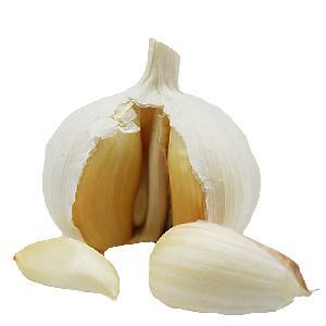 Chinese Natural Fresh White Garlic 10kg  Box   Size  55mm
