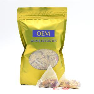 100% Natural Herbal Tea Womb Detox Tea For Irregular Menstruation