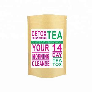 Herbal Flat Tummy Boost Metabolism Burn Fat Morning Boost Tea&Night Cleanse Tea