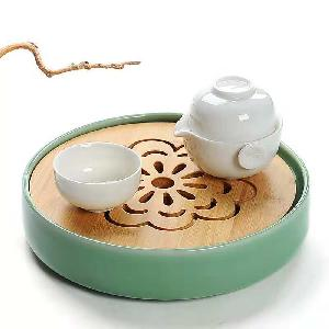 Factory price traditional chinese tea  tray  gongfu  wooden  tea  tray