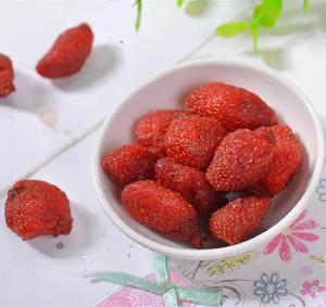 Factory Price  Bulk Organic Freeze Dried Strawberry Dried Strawberry Dices