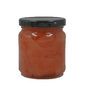 212ml  natural pickled pink red sushi ginger in jar Chinese preserved vegetable Japanese style