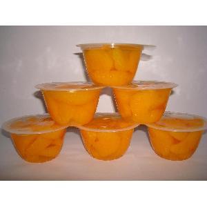 fruit bowl - mandarin oranges in plastic cups 4oz light syrup pack GMO free