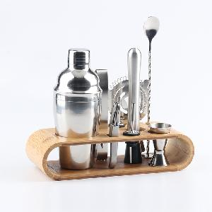 Hot sale stainless steel boston shaker cocktail shaker bartender kit