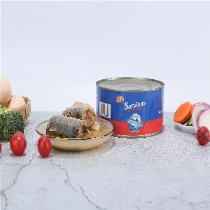 High temperature sterilization 3 stages sardine  canned  fish