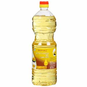 Refined Deodorized Sunflower Cooking Oil 1L