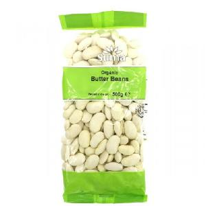 Butter beans  / WHITE BUTTER BEANS / Organic White Butter Beans