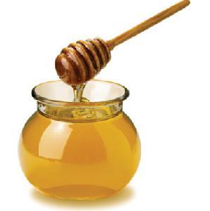 Glass Bottle Raw Honey