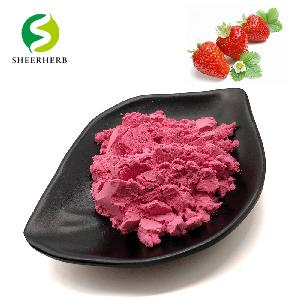 Dry Strawberry Concentrated Powder/Strawberry Flavor Powder/Organic Strawberry Powder Strawberry Extract