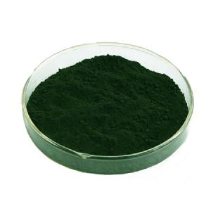 Natural pigment green used in food drink icecream Water soluble chlorophyll  copper  sodium salt green pigment powder
