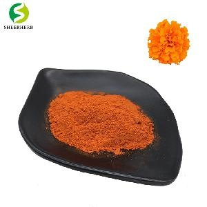Marigold extract lutein powder for eyes drops Best price lutein and zeaxanthin supplements tablets jelly