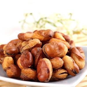Wholesale healthy snacks fried broad bean beans spicy/spiced/sauce beef/ barbecue taste
