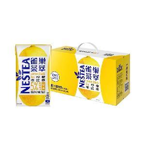 Wholesale boxed fruit  juice   tea  drink healthy   lemon  black  tea  drink