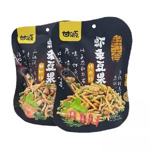 Wholesale healthy Chinese snacks barbecued pea snacks