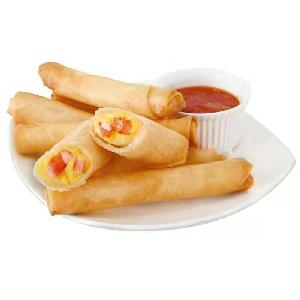 wholesales frozen Shrimp spring rolls chinese famous special snacks traditional frozen samosa