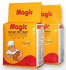 Instant dry yeast with Magic brand