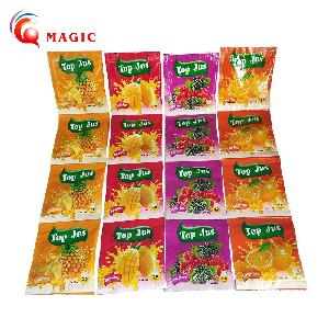 10g for 2liters water  Instant Fruit Drink Strawberry Fresh  Concentrate  Fruit  instant  juice   powder  flavored drink  powder