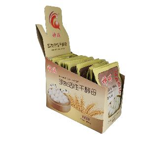 Factory outlet hot sales 12g  lower sugar and high sugar instant dry baker's yeast 200bags per carton