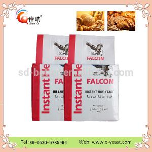 Halal approved China factory  high  active 450g instant dry  yeast  with  low   sugar / yeast  for cheese