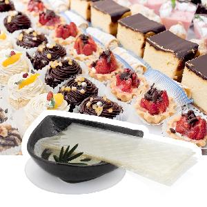 Edible food grade Leaf gelatin sheets 260 bloom