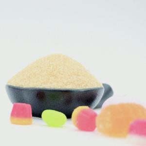 High transparency Gummy candy powder beef raw material gelatin
