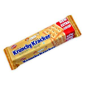 Sweet and Salt Crackers 60 gm Square Crunch n Crisp Biscuits pillow pack Unique Tasty Krunchy Kracker Traditional Fermented