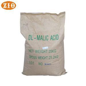 Food chemical food grade  DL   malic   acid   powder  bulk price supplier