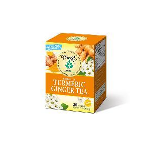 Balance Blood Lipid Blood Sugar Wholesale Healthy Digestion Stomach  Turmeric   Ginger Tea
