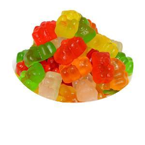 Hot Selling OEM Vitamin Fruity Flavor Sweet Bear Gummy Candy