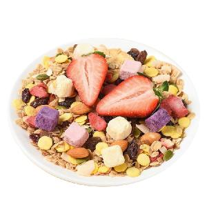 Nutritious And Delicious Yogurt Fruit Granola Dry Eating Nut Oatmeal 500g Instant Cereal Breakfast