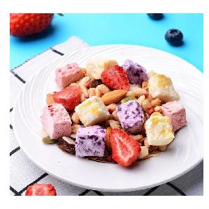 Good taste oatmeal cereal food with fruit nut for breakfast