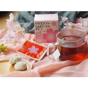 Good quality tea boutique sweet sakura  luxury  tea gift set  box