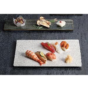 Японская прямоугольная тарелка суши ресторана Karesansui для подарка или сувенира