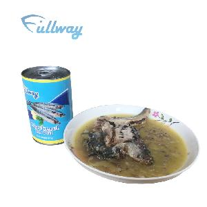 Chinese high quality canned mackerel fish