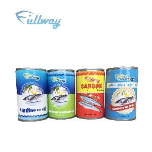 factory supplier low price Canned mackerel in tomato sauce  sardine   tuna  canned  fish  in natural oil