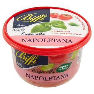 Napoletana  Italian typical Pasta Sauce with Tomato   Basil 200 g - Made in Italy