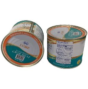 Tin  Crab   meat   canned
