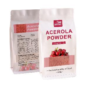 Custom bag dietary supplement good Coniferous cherry  extract  17%-32% Vc Acerola Cherry fruit  extract  powder