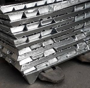 Pure Zinc Metal Ingots