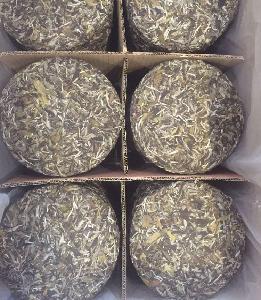 Chinese Fuding White Teabread Pai Mu Dan White Peony Loose Tea Custom Packing